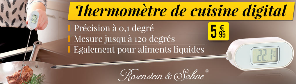 NC3856 Thermomètre de cuisine digital