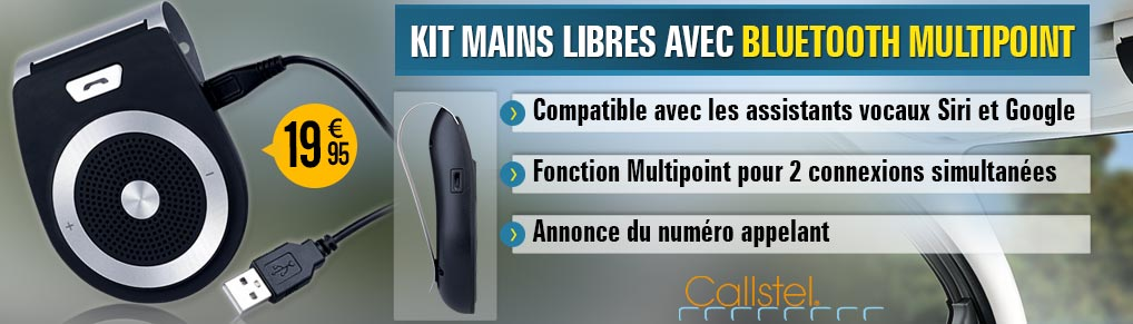 Kit mains libres avec bluetooth multipoint BFX-420.pt - HZ2759