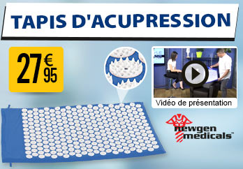 NC2229 Tapis d'acupression - 9075 points